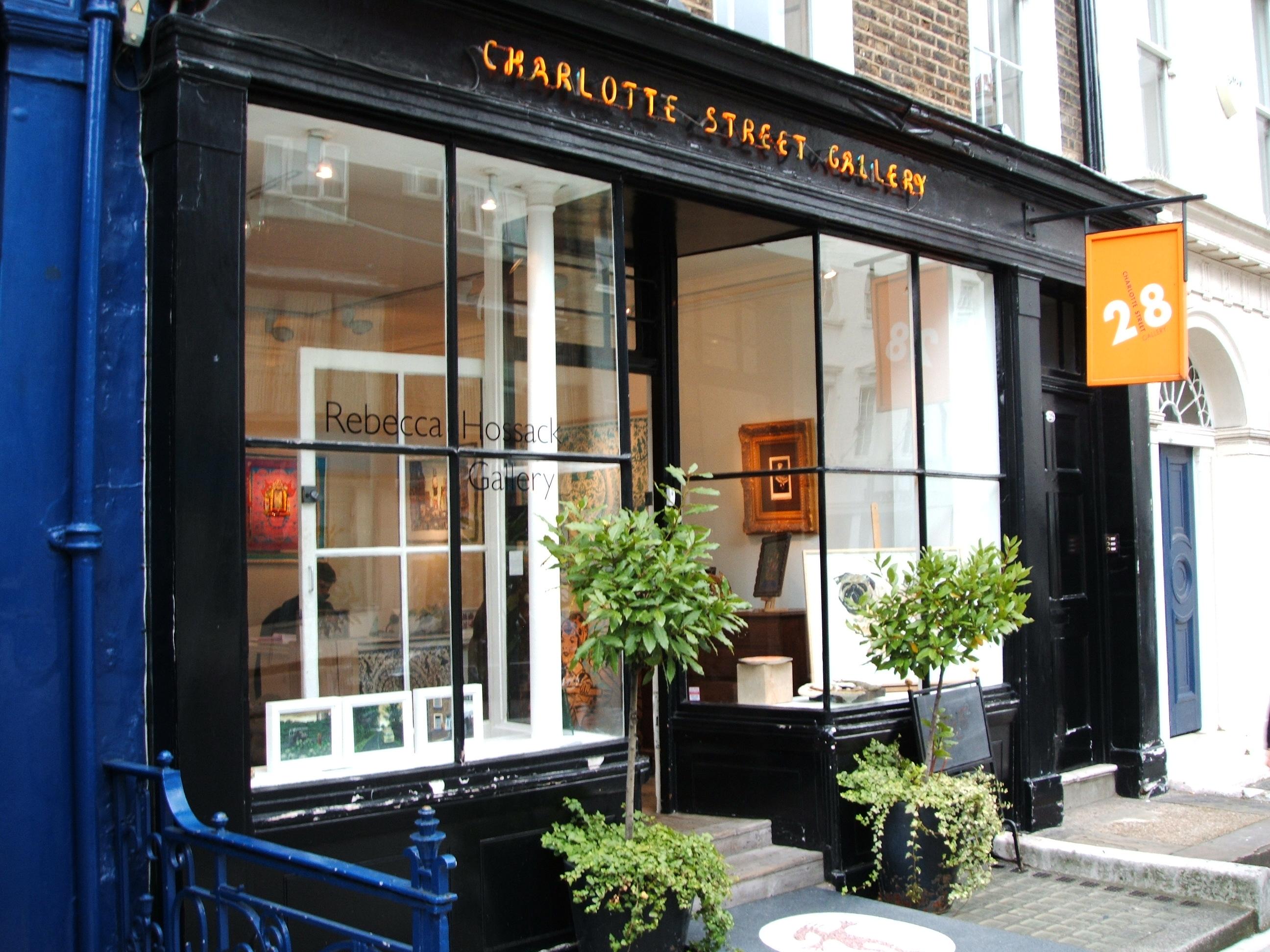 Charlotte Street Gallery London