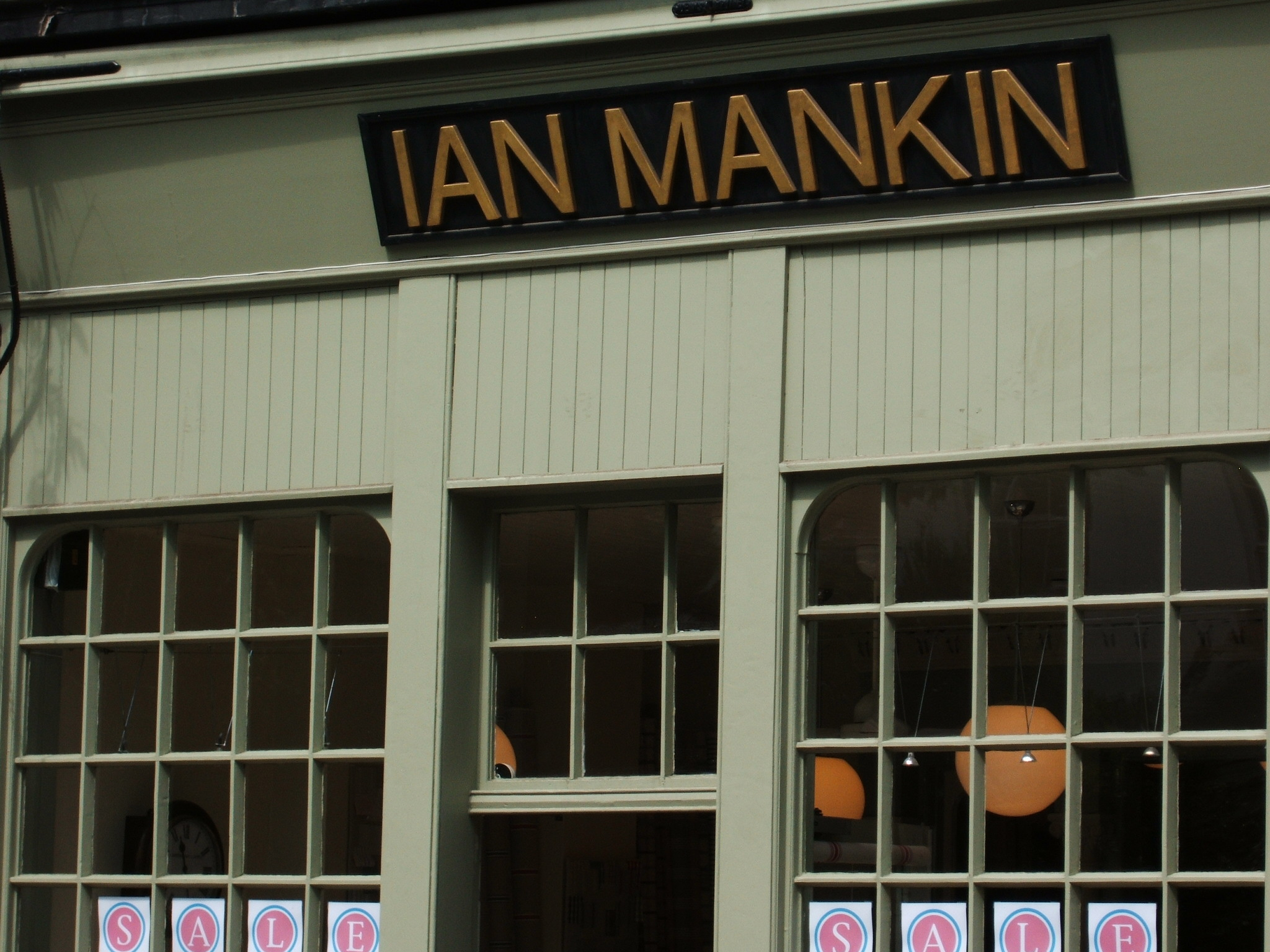 Ian Mankin (Natural Fabrics) London