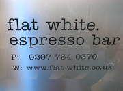Flat White Espresso Bar London