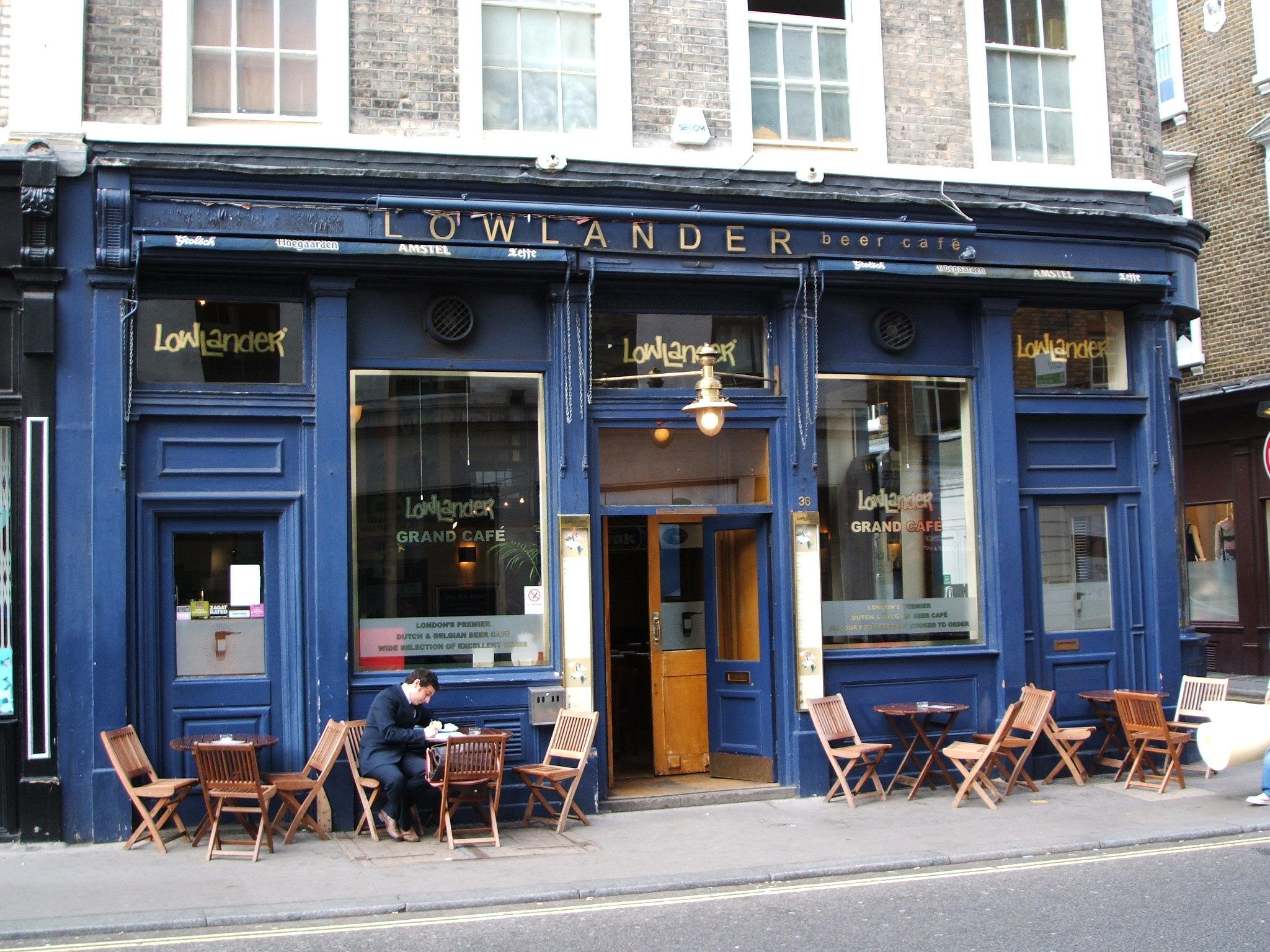 Lowlander Grand Café London