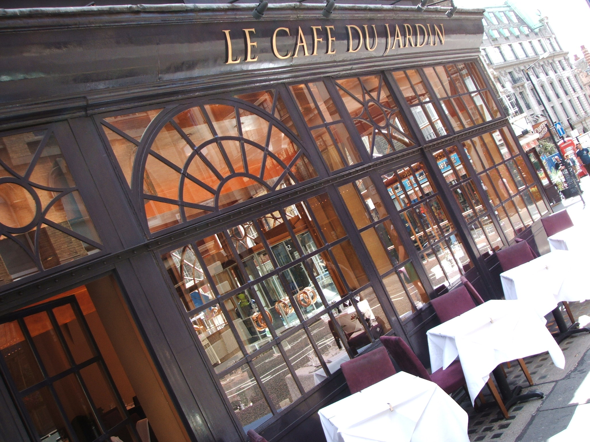 Le Cafe Du Jardin London