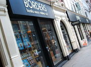 Borders Books London