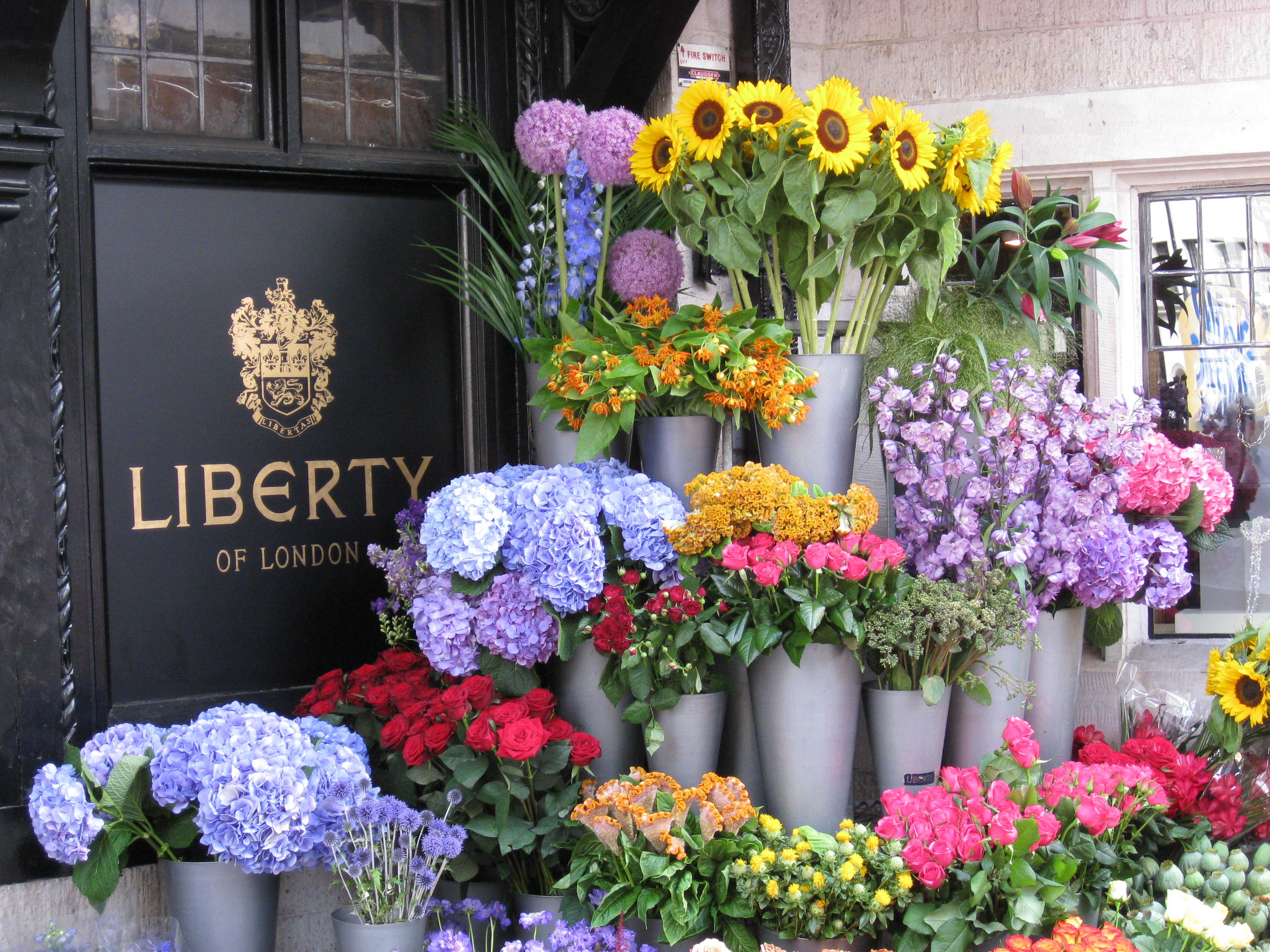 liberty flowers by paula pryke london flower shops in london. Black Bedroom Furniture Sets. Home Design Ideas