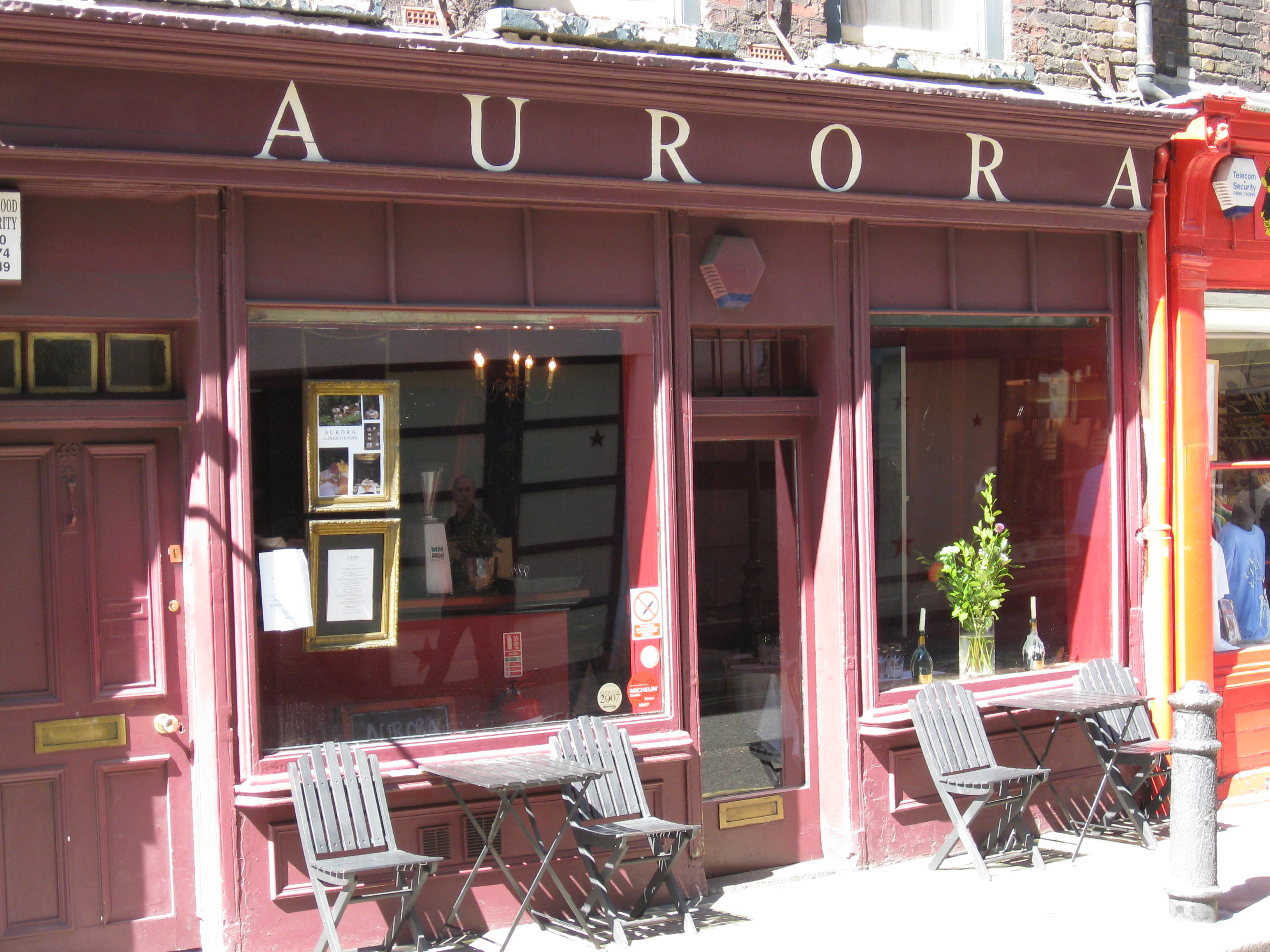 Aurora Cafe London