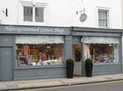 Monogrammed Linen Shop London