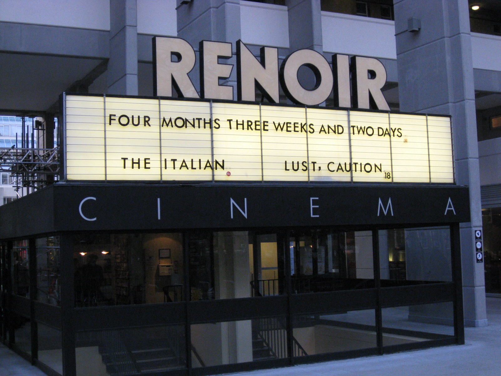 Renoir Cinema London