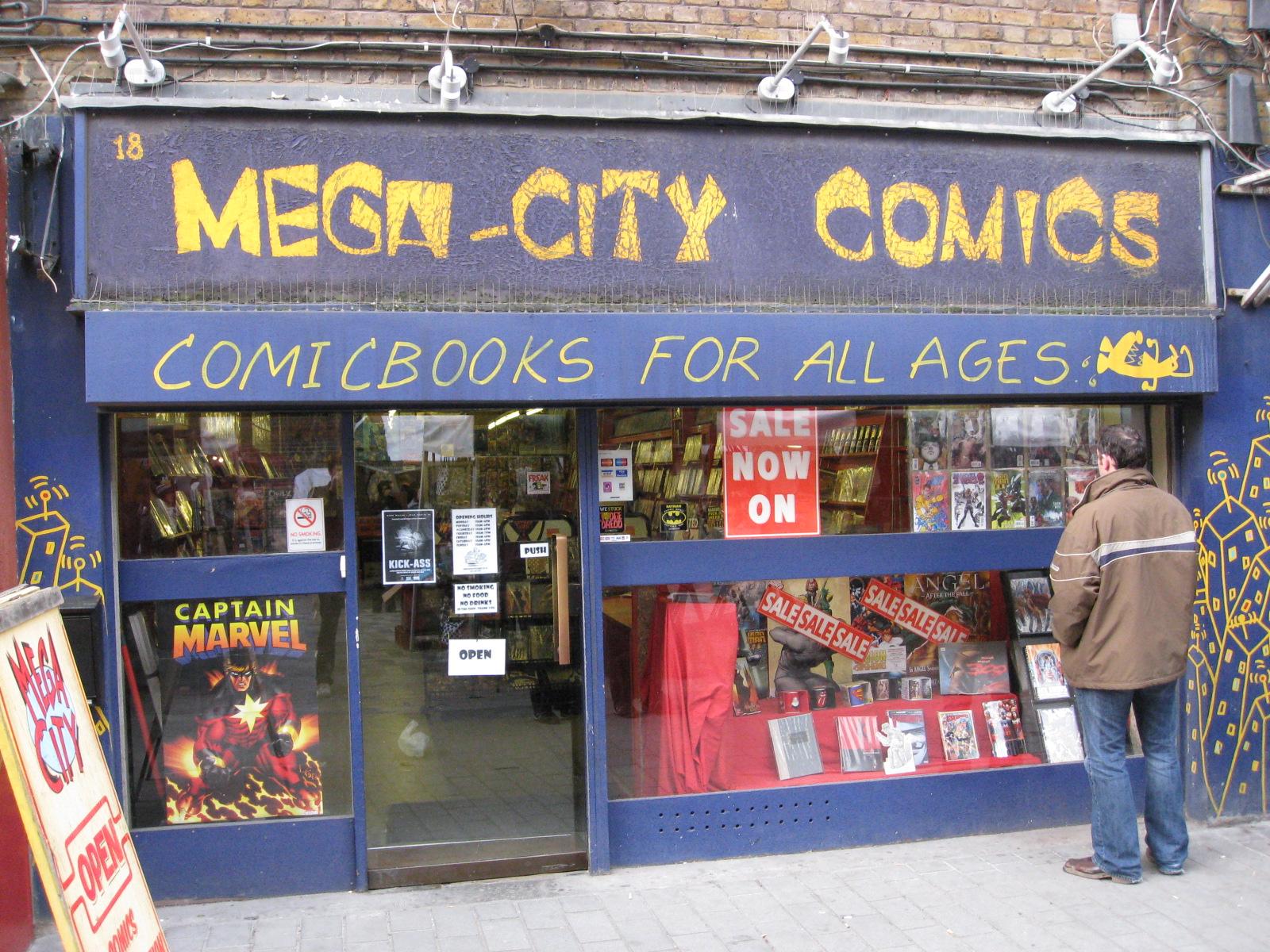 Mega City Comics London