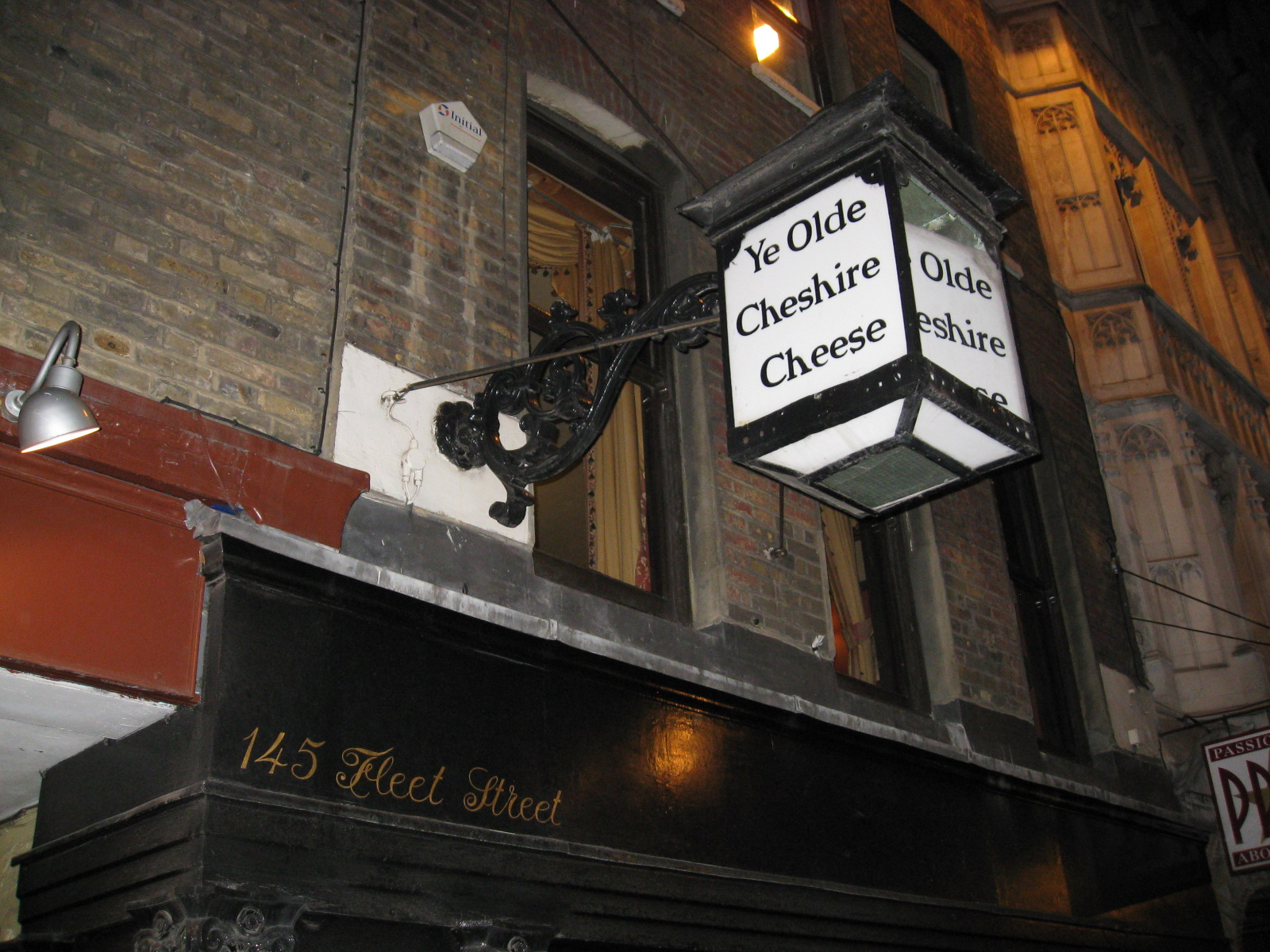Ye Olde Cheshire Cheese London