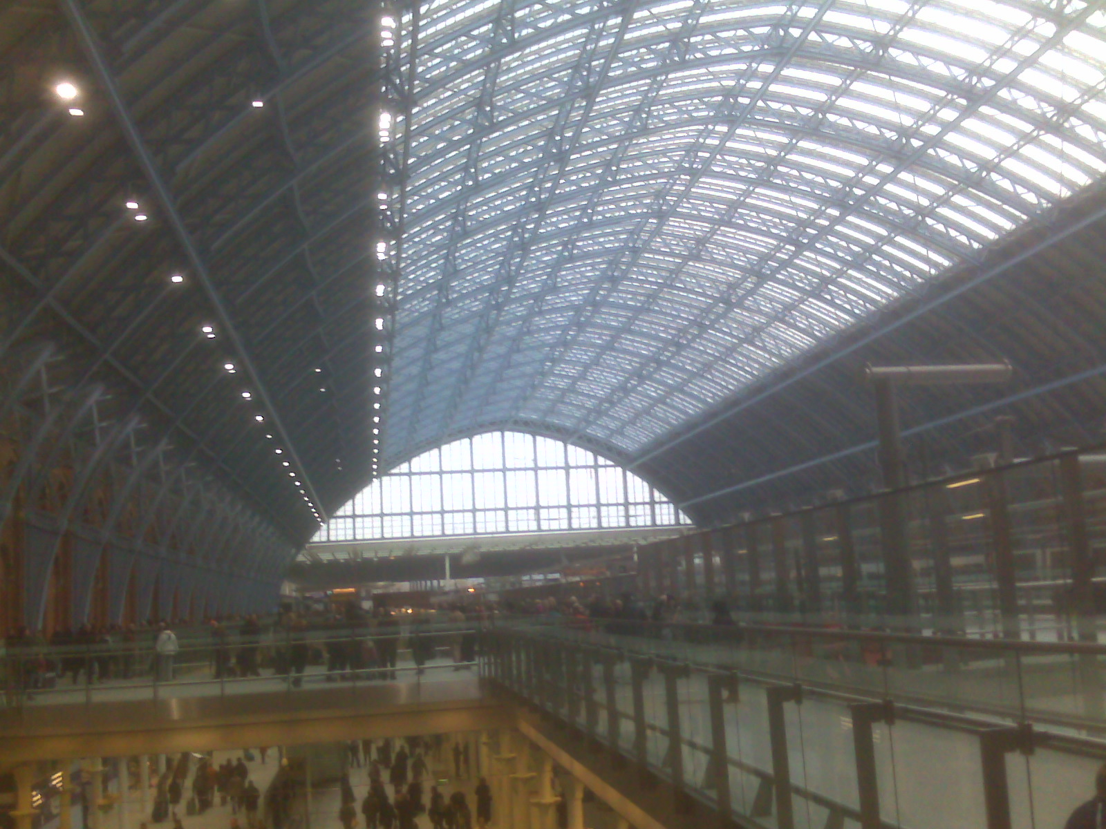 St. Pancras Railway Station London