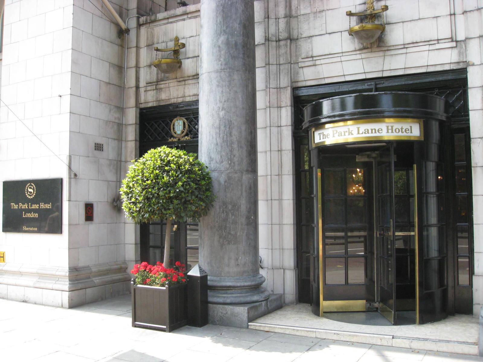 The Park Lane Hotel (Sheraton) London