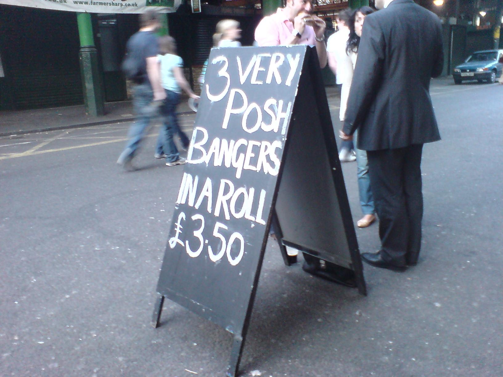 Stoney Street Cafe London