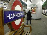 Hammersmith Station London