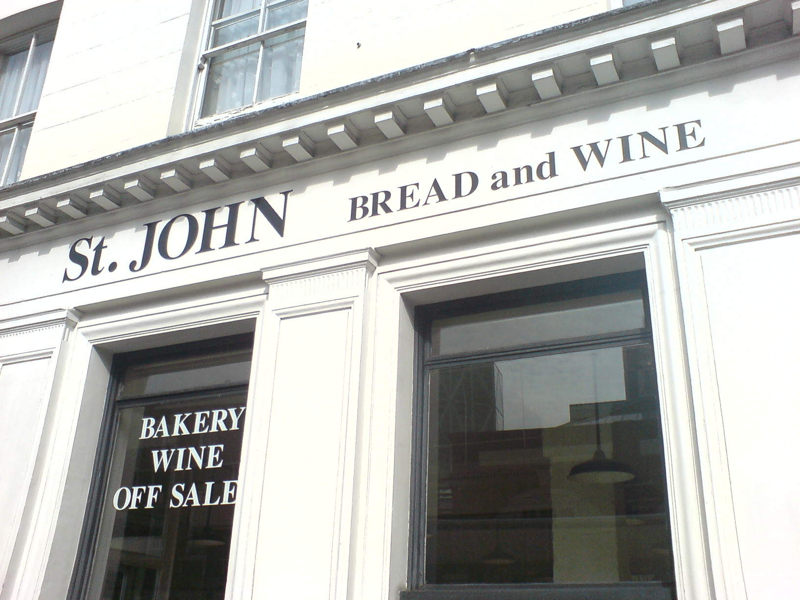 St. John Bread & Wine London