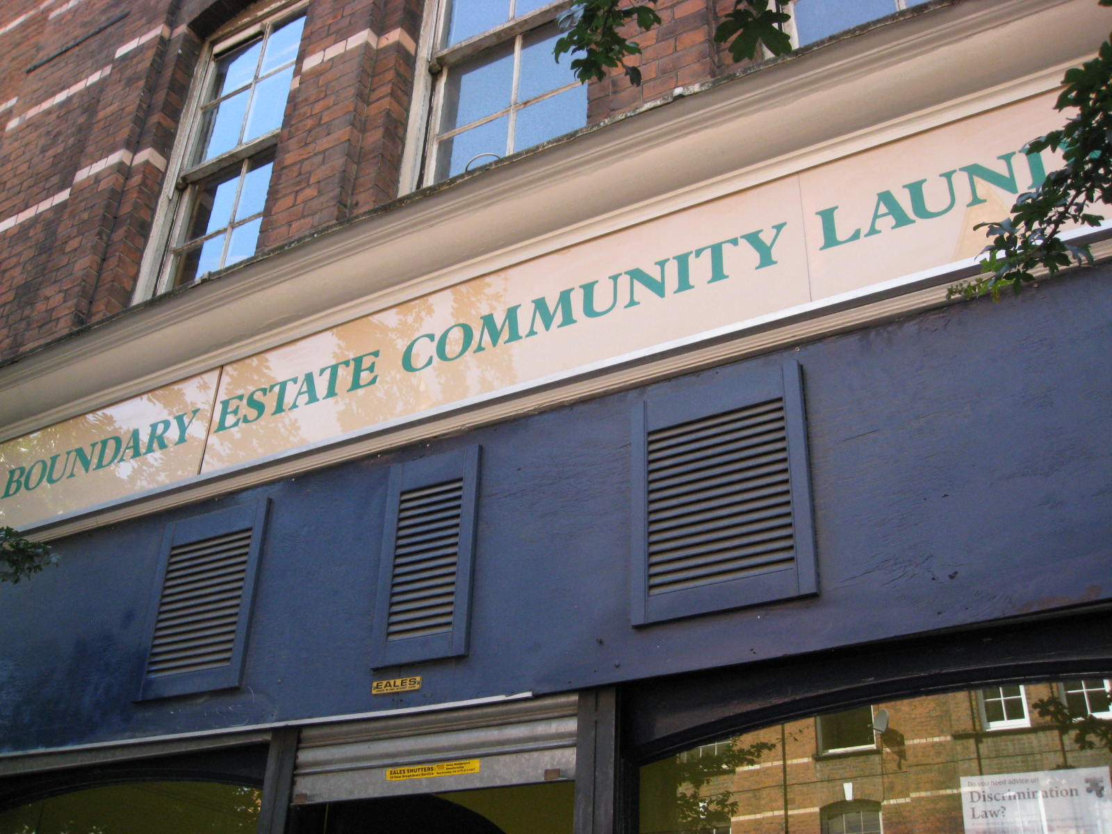 The Boundary Estate Community Laundrette London