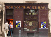 "Gordon""s Wine Bar London"