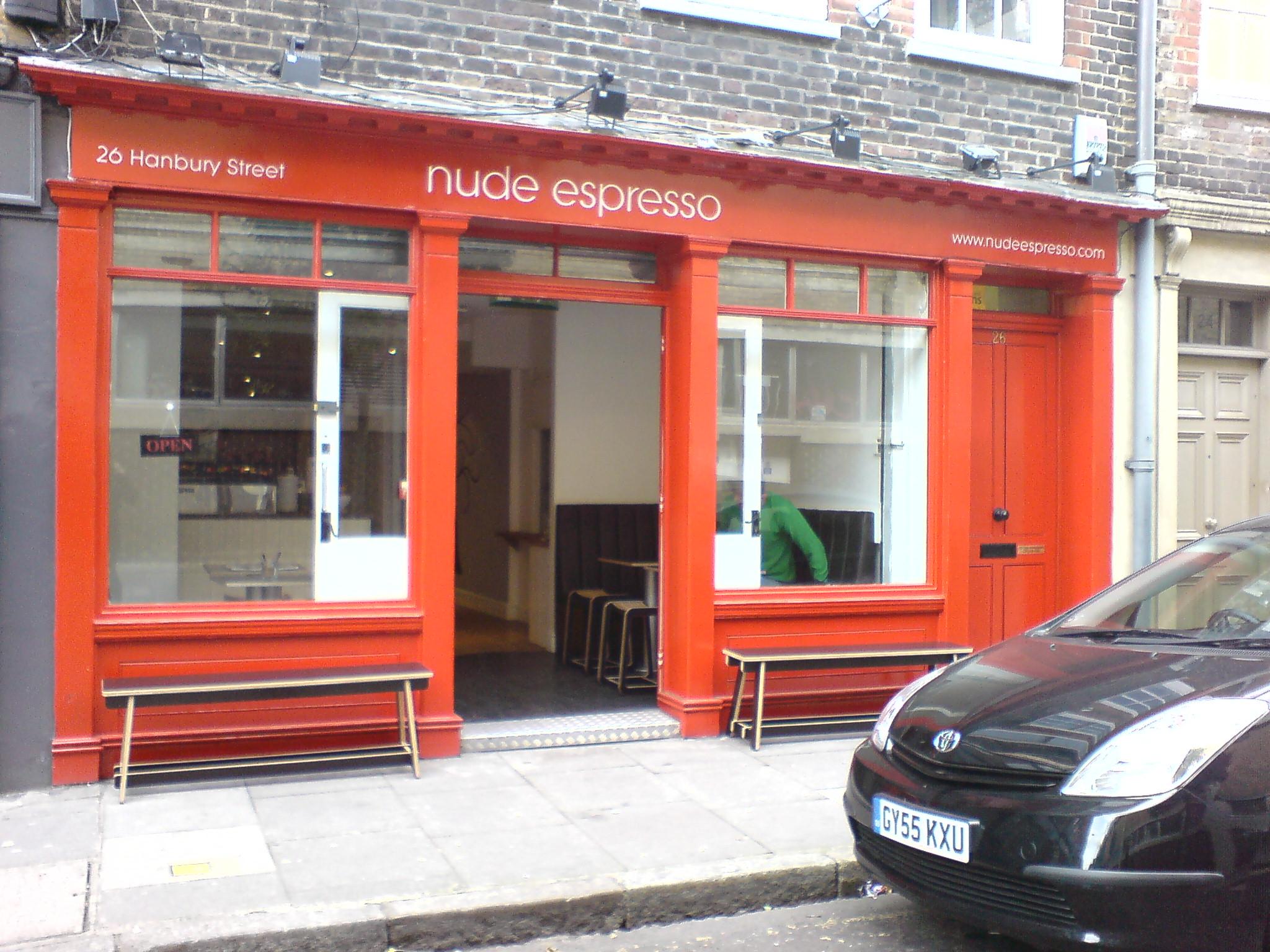 Nude Espresso London