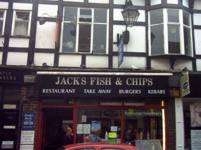 Jacks Fish & Chip Bar Chester