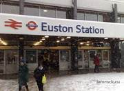 Euston Railway Station London