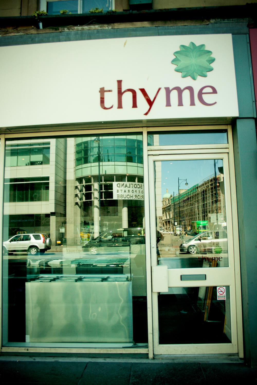 Thyme Edinburgh
