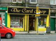 The Card Shop Edinburgh