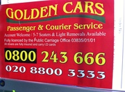 Golden Cars London
