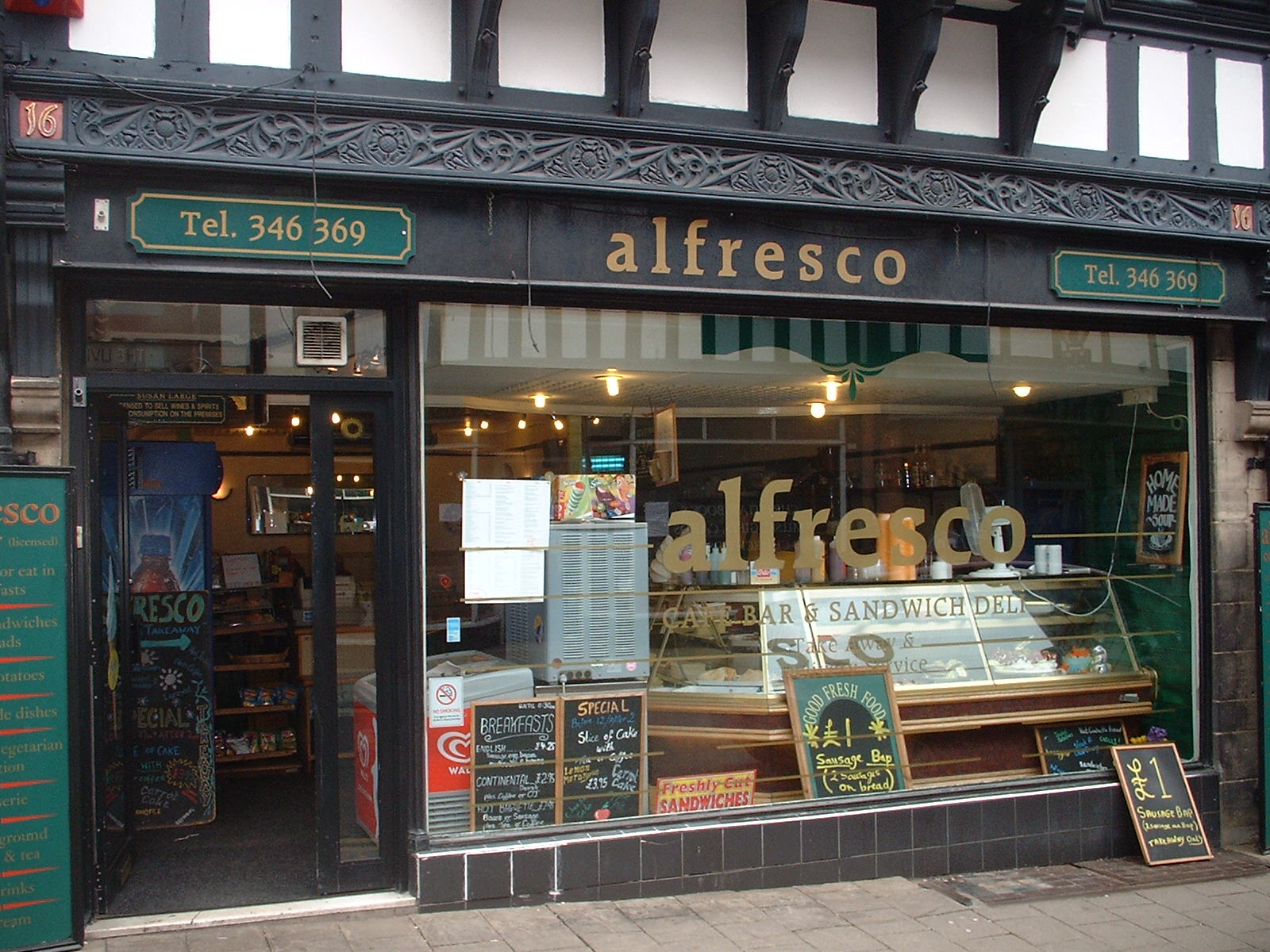 Alfresco Chester