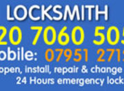 Southwark Locksmiths 02070605052 Local Locksmith SE1 London