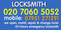 Bloomsbury Locksmiths 02070605052 Local Locksmith WC1 London