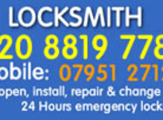 Chingford Locksmiths 02088197780 Local Locksmith E4 London