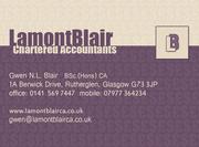 Lamont Blair Chartered Accountants Glasgow