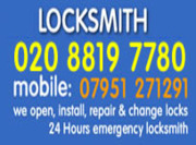Wood Green Locksmiths 02088197780 Local Locksmith N22 London