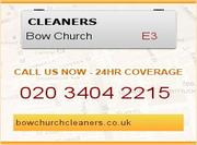 Cleaners Bow London