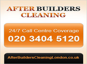 After Builders Cleaning London London