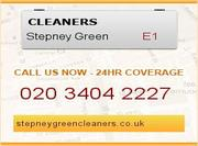 Cleaning services Stepney green London