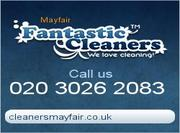 Cleaners Mayfair London