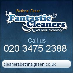 Bethnal Green Cleaners London