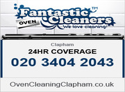 Oven Cleaning Clapham London