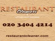 Restaurant Cleaner London