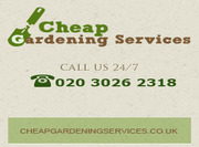 Cheap Gardening Services London