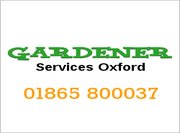 Gardener Services Oxford Oxford
