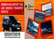 Birmingham Airport Taxis and Minibus Transfers London