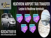 Heathrow Airport Taxi and Minibus Transfer service London