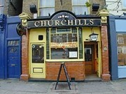 "Churchill""s London"